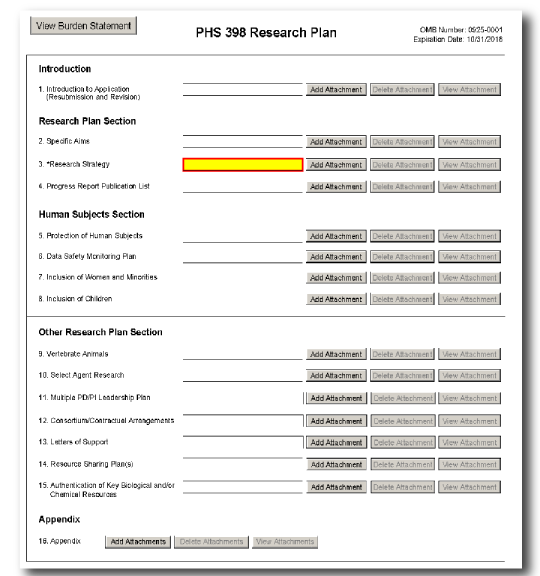 research and development plan template - phs 398 research plan form