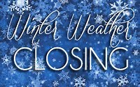 winter weather closing
