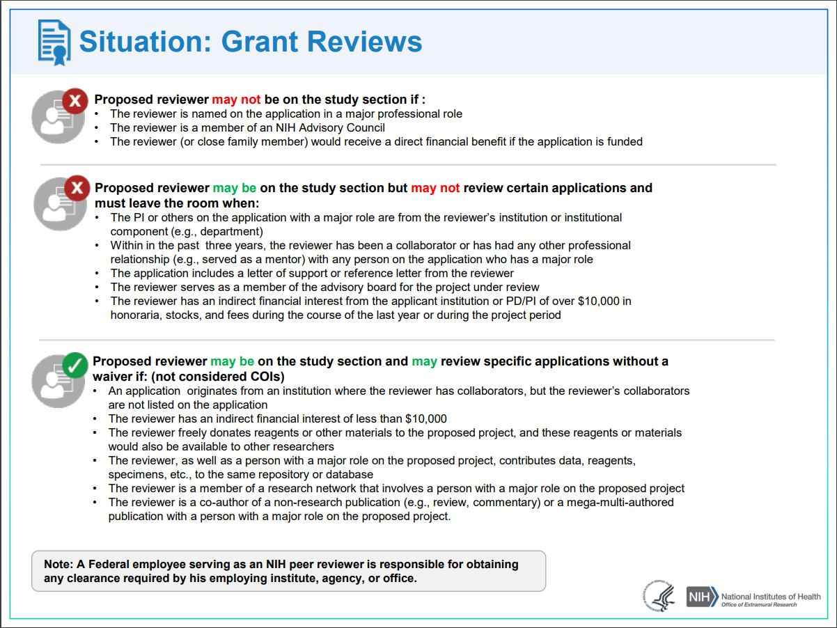 Grants Reviews
