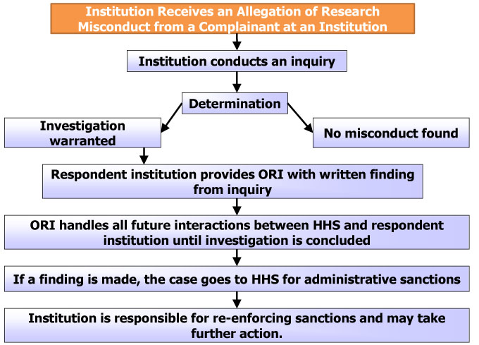 What Is The Nih Process For Handling Research Misconduct If The
