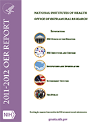 2012 OER Annual Report