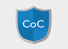 Certificate of confidentiality shield logo