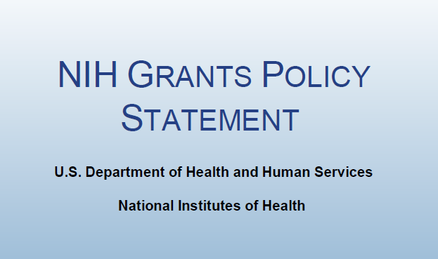 NIH Grants Policy Statement