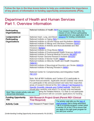 Understand Funding Opportunities Grants Nih Gov
